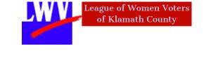 LWV Klamath County logo