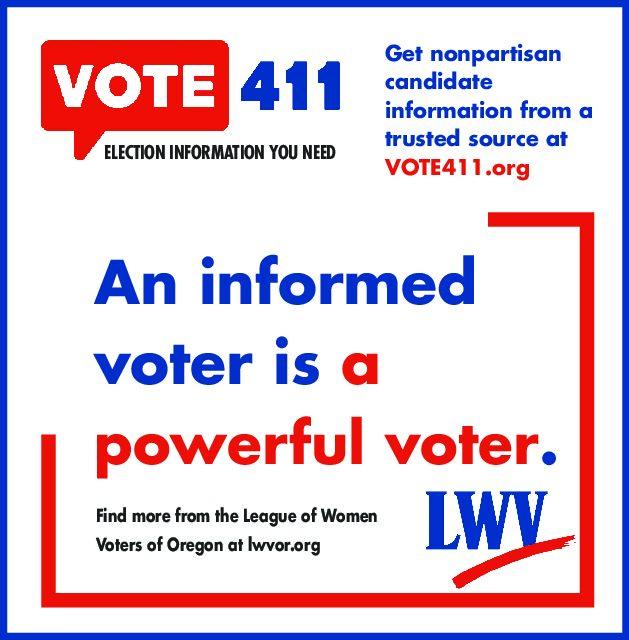 Vote 411 website informs voters!